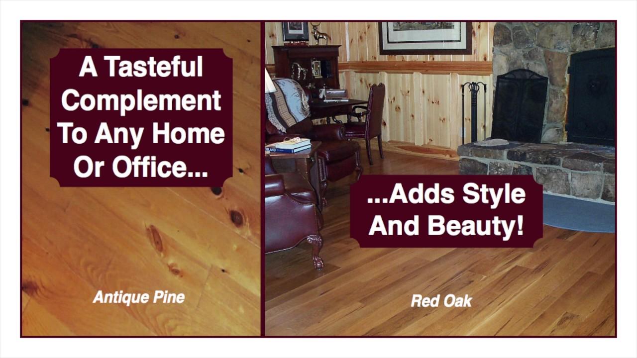 Union Church Millworks Top Quality Hardwood Flooring
