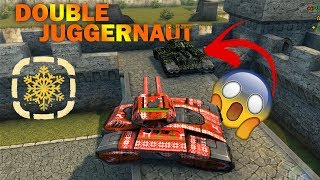 Tanki Online Double Juggernaut at the SAME BATTLE!! Christmas Gold Boxes with Juggernaut
