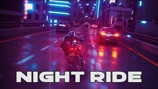 Cyberpunk Synthwave MIX - Night Ride // Royalty Free No Copyright Background Music
