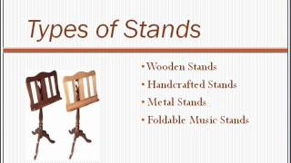 Wooden Music Stand - One Of The Better Music Stands