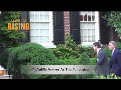 Terry McAuliffe & Wang Wenliang Fundraising Together At Hillary Clinton's House In 2013