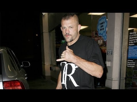 Chuck Liddell Starts Fight With Photographers After Night Of Heavy Drinking [2009]