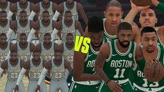 15 LeBron James vs The Boston Celtics!   NBA 2K18 Challenge  
