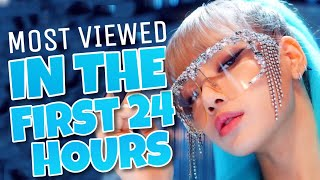 «TOP 10» MOST VIEWED KPOP MUSIC VIDEOS IN THE FIRST 24 HOURS ((UPDATED))