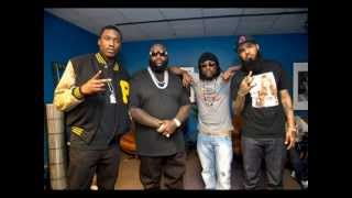 Power Circle - (Gunplay, Stalley, Wale, Meek Mill, Rick Ross) Feat. Kendrick Lamar (lyrics)