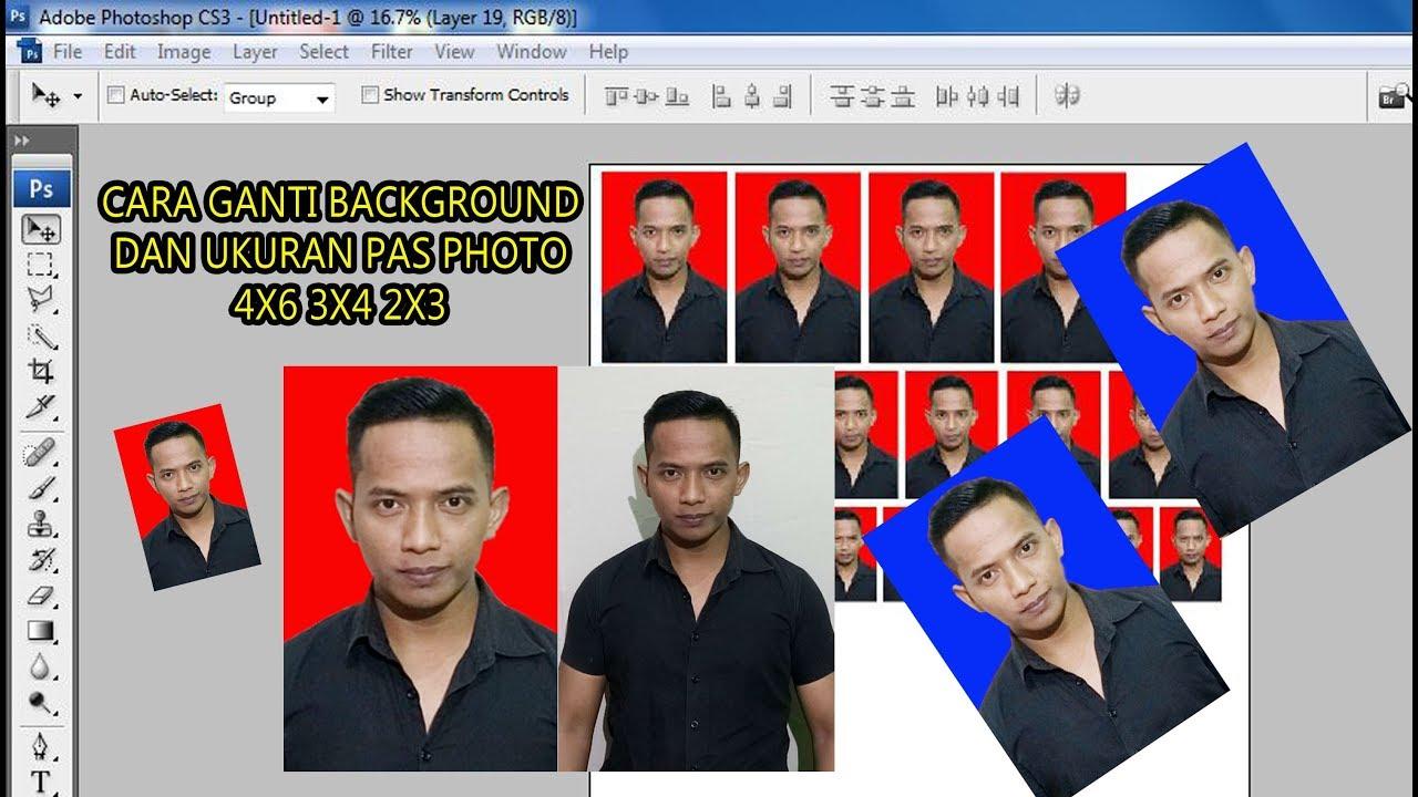 40+ Koleski Terbaik Cara Ganti Background Foto Di ...