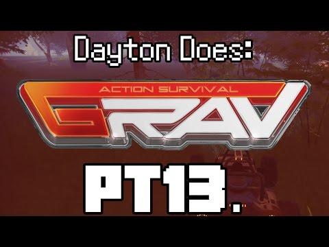 GRAV Solo : Pt13. Doom Buggy and Plasma Armor Crafting! (Grav Gameplay, Steam PC Single Player)