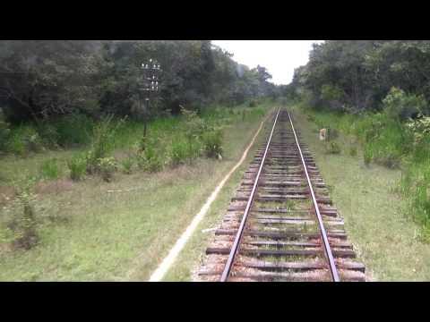 The train Colombo-Trincomalee