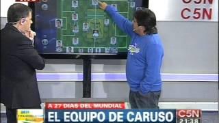 C5N - NOCHES ARGENTINAS: LA SELECCION SEGUN CARUSO