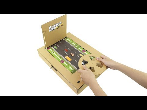How to Make Real Car Racing Gameplay from Cardboard