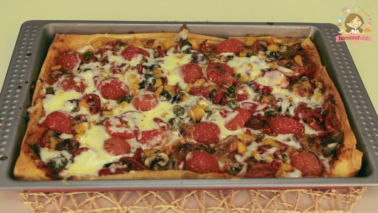 Yufkadan Pizza Yapımı Videosu