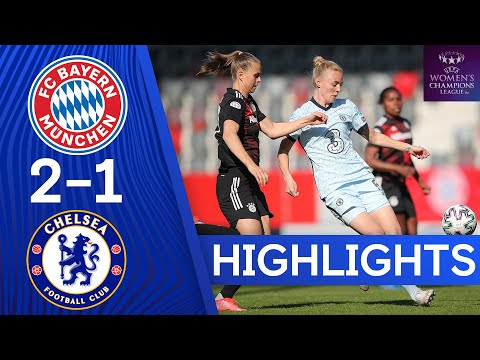 Bayern Munich 2-1 Chelsea | UEFA Champions League | Semi-Finals | 1st Leg | Highlights