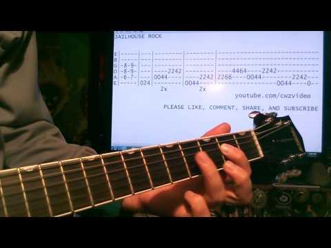 Guitar lessons online Elvis Presley Jailhouse Rock tab