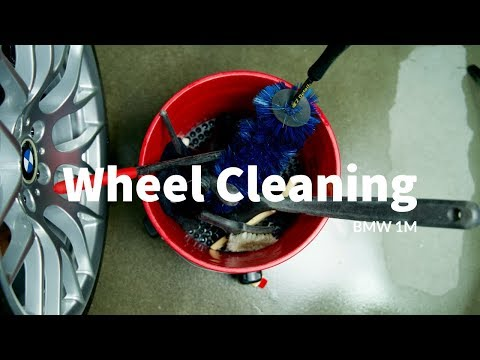 How to Clean Your Wheels- BMW 1M