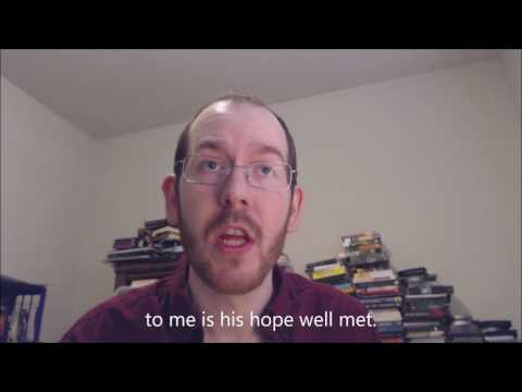 """An Old Norse reading of """"Eiriksmal"""", with English subtitles"""