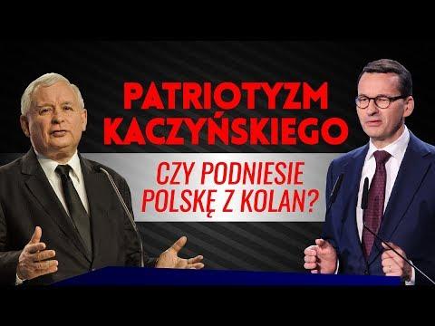Patriotyzm Kaczyńskiego - czy podniesie Polskę z kolan? IDŹ POD PRĄD NA ŻYWO 15.10.2018