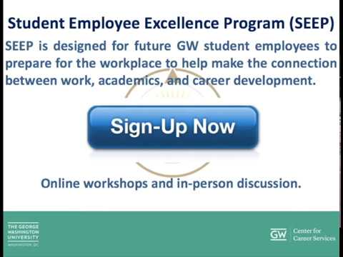 Student Employment at GW (for Non-Federal Work Study Students)