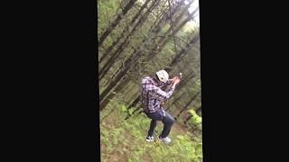 TreeTop Trekking Ganaraska - Aaron Zip Lining