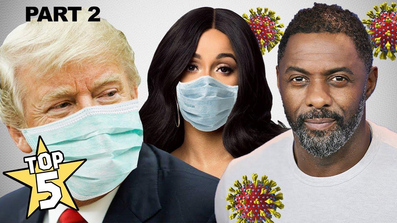 Top 5 Celebrities With Corona Virus Part 2 | Donald Trump, Idris Elba, Christian Wood & more