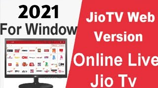 JIo Tv In Pc By Website In Chrome | Jio Tv Live By Website In Pc | Jio Tv In Browser | No Emulator
