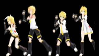 【Kagamine Rin,Len,Rinto,Lenka】 Poker Face【MMD】 www apowersoft es