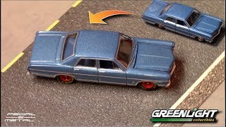 GL's 1/64 1967 FORD Galaxie 500 | Quick Review & Wheel Swap