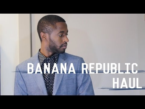 Banana Republic Haul!  Work Clothes for Young Professionals    Ringo and Elphy
