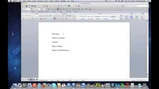 Microsoft Word-Starting Page Numbering From A Specific Page thumbnail