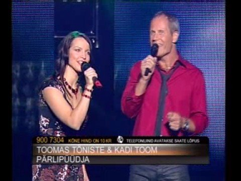 Laulud Tähtedega (TV3) - Toomas Tõniste ja Kadi Toom - laul1