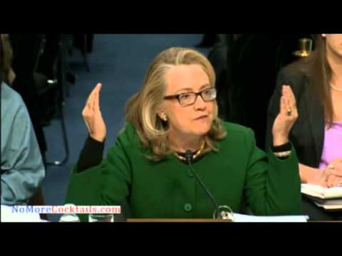 Hillary Clinton to Sen Ron Johnson: What difference does it make if there was a protest or not?