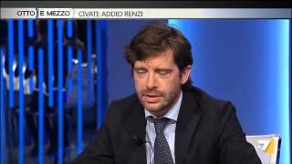 Otto e mezzo - Civati: addio Renzi (Puntata 06/05/2015)