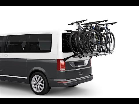 Thule WanderWay 2 (911)  - крепление для перевозки велосипеда на багажник автомобиля Volkswagen T6
