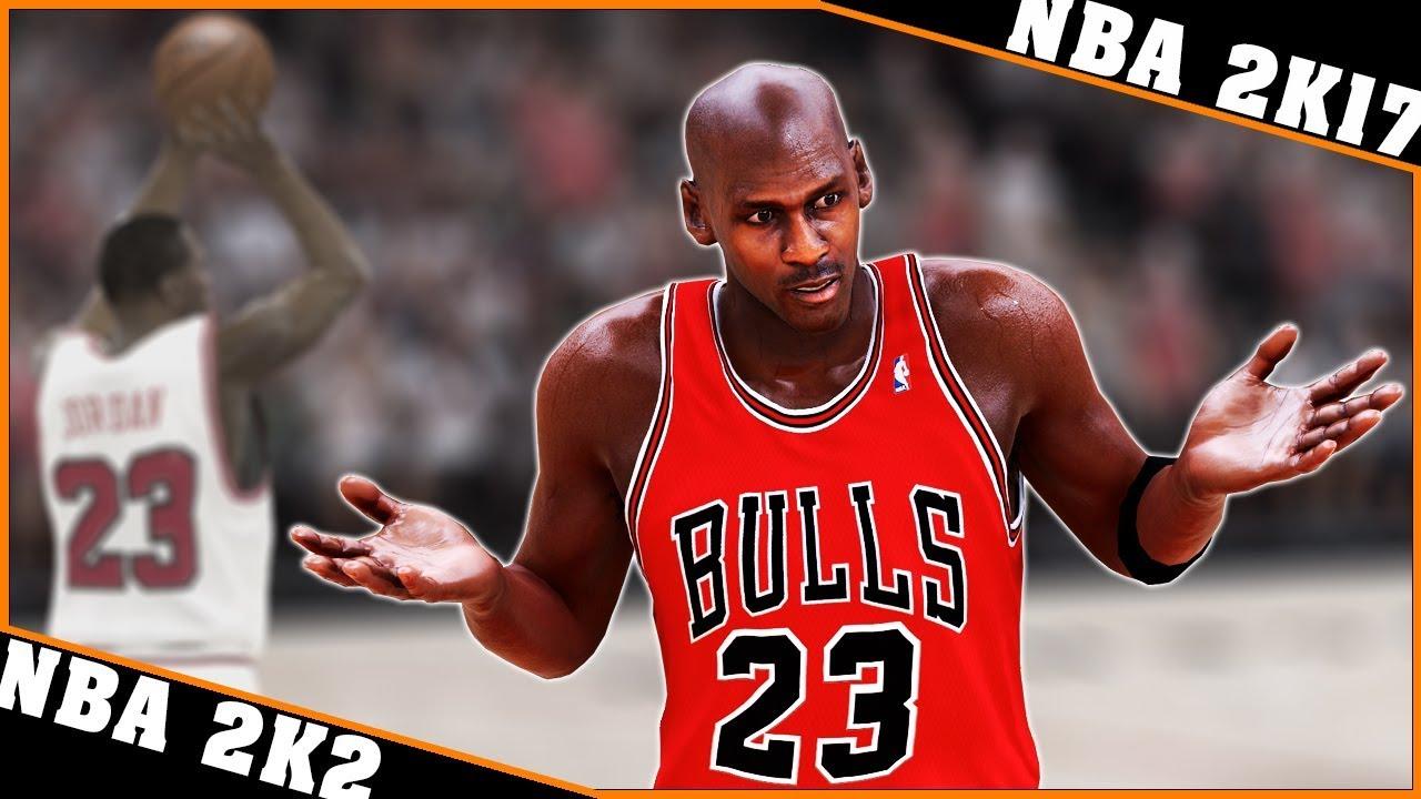 san francisco 790e2 70a2b MICHAEL JORDAN gameplay evolution  NBA 2K2 - NBA 2K17  🏀