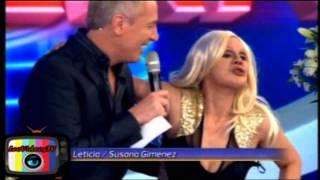 Leticia Bredice es Susana Gimenez en Tu Cara me Suena 3