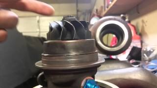 Possible bent holset hy35 shaft?