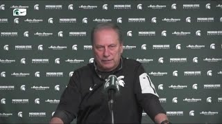 Michigan state basketball coach tom izzo previewed his team's thursday big ten tournament match-up with maryland after practice on tuesday before he and ...