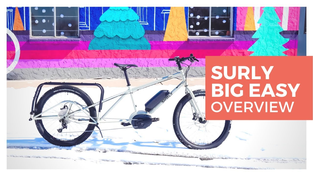 9174dc84790 The Surly Big Easy Electric Cargo Bike - I'm EXCITED to meet you ...