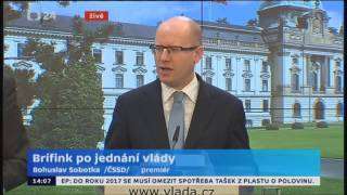 B. Sobotka: Se služebním zákonem jsem optimista. Koalice se shodne do konce roku