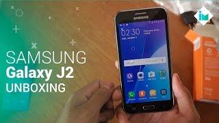 Samsung Galaxy J2 - Unboxing en español