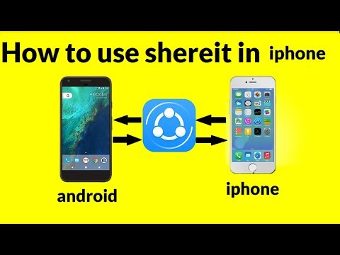How To Use Shareit In Iphone To Android