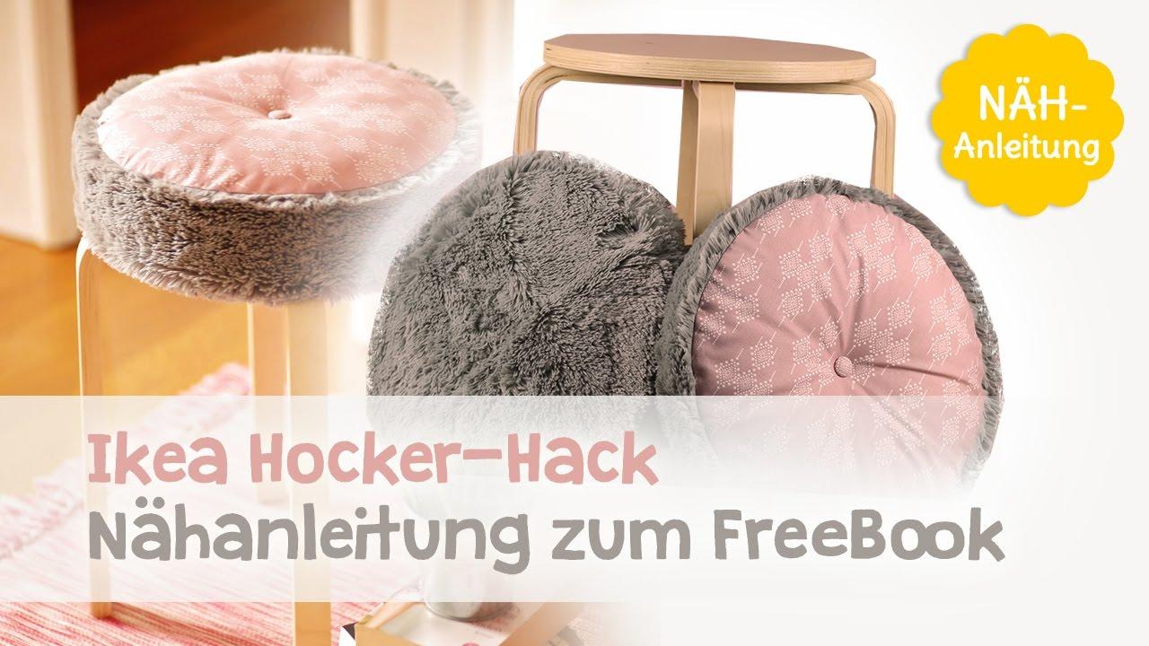 Kostenlose Video Nähanleitung Ikea Frosta Hack Ein Hocker