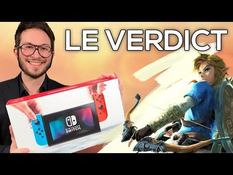 Nintendo Switch, le verdict de Julien Chièze !