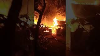 Detik detik Kebakaran di Kasegeran rt 7 rw2