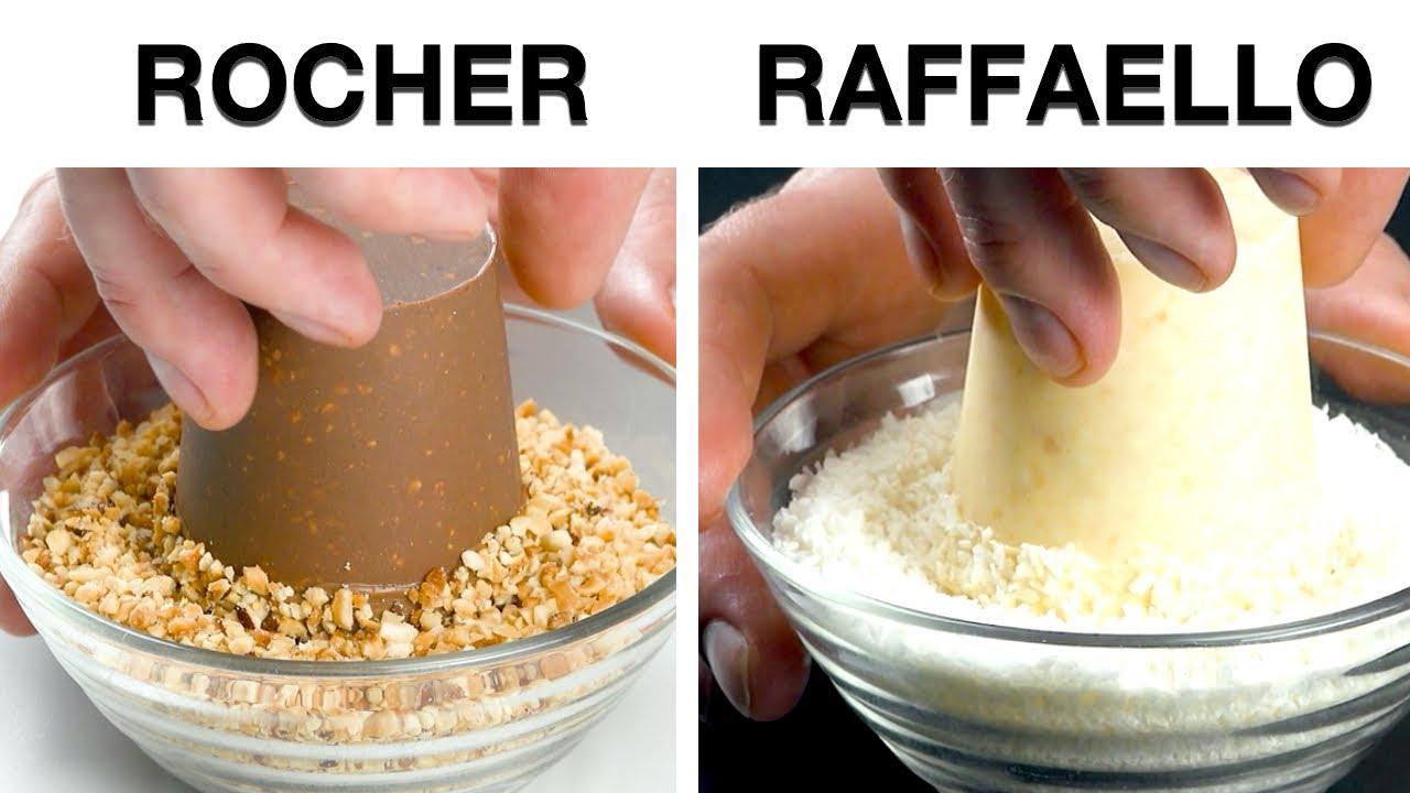Aplasta 8 Ferrero Rocher y Raffaello con un tenedor, y luego conviértelos en este delicioso postre