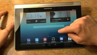 Lenovo Yoga 10 Tablet Minireview after Unboxing