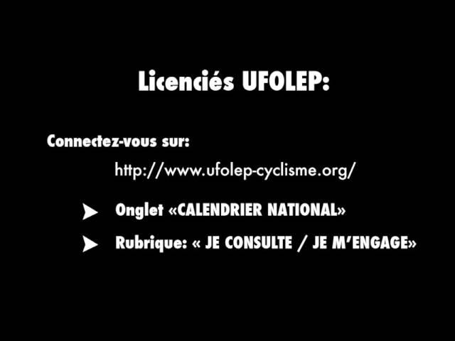 Cyclo cross BTWIN Village 2015 - Comment sinscrire ?