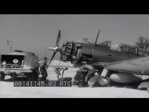 TBFs Enroute Rabaul WW2: Piva, Munda, & Barakoma Fields, Solomon Islands, 01/22/1944 (full)
