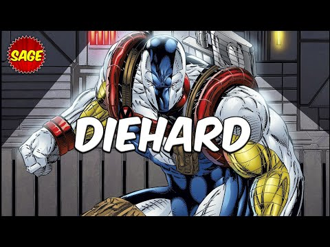 Who is Image Comics DieHard? When Cyborg meets Captain America.
