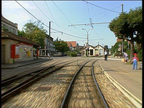 Längste Tramlinie der Schweiz - Kamerafahrt auf der BLT Linie 10 (1993)