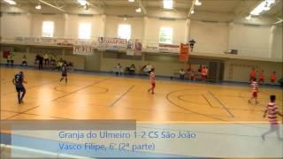 Juvenis (Campeonato AFC): Ass. Granja Ulmeiro 1-4 CS São João
